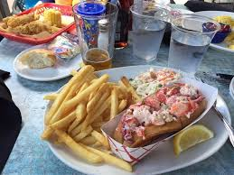cuisine le gal traditional lobster roll at seafood picture of sea