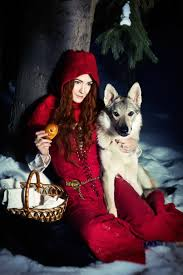 red riding hood spirit halloween red riding hood and gray wolf by asherwarr on deviantart