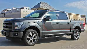 Ford F150 Truck Decals - 2015 2016 2017 2018 ford f 150 stripes sideline special edition