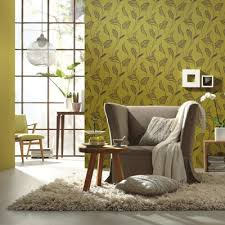 Wallpaper Designs For Home Interiors by Modern Wallpapers With Leaves Beautiful Eco Style Decor