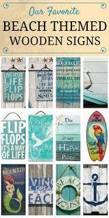 Home Decor Signs And Plaques Inspirational Wood Sign Hand Painted Beach Decor Beach Signs