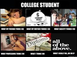 College Students Meme - college portrayal in society looking in the popular culture mirror