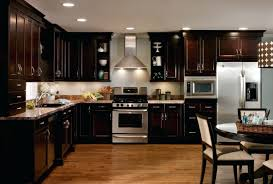 Light Brown Kitchen Dark Cabinet Kitchens Hardware Ideas Modern Kitchen Cabinets Small