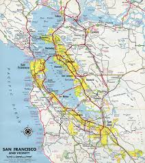 San Jose Map by Interstate Guide Interstate 680 California