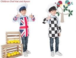 creative hobbies for children chef hat and apron dress up set