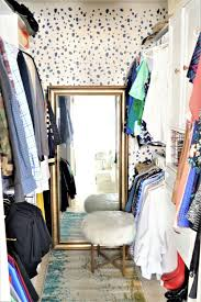 Diy Bedroom Wall Closets Give Your Closet A Style Boost Using Stencils Stencil Stories
