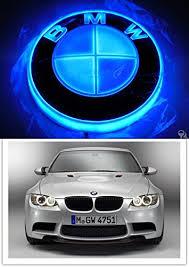 bmw car logo buy 4d front logo light led cold light emblem for bmw car sticker