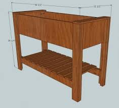 Free Wooden Box Plans by Best 25 Planter Box Plans Ideas On Pinterest Wooden Planter