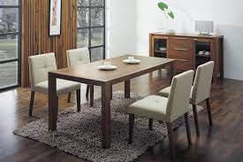 Modern Contemporary Dining Table Dining Table Designs In Wood And Glass Glass Top Fabric Seats