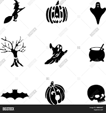 scary halloween symbols stock vector u0026 stock photos bigstock