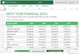 excel financial template exol gbabogados co