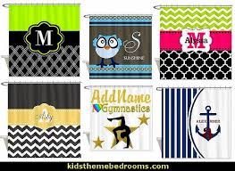 Monogram Shower Curtains Decorating Theme Bedrooms Maries Manor Shower Curtains Fabric