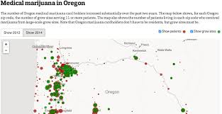 Portland Me Zip Code Map by Map Medical Marijuana In Oregon Oregonlive Com