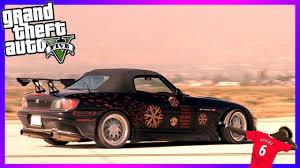custom honda s2000 fast u0026 furious honda s2000 custom build tutorial gta 5 surano