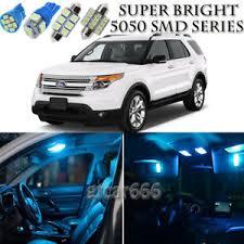 2015 ford explorer interior lights 10pcs ice blue led interior lights bulb package kit for ford