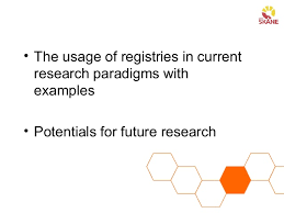 data registries using quality registry data in research