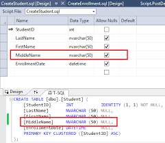 Sql Server Alter Table Change Column Name Ef Database With Asp Net Mvc Changing The Database