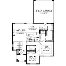 narrow lot house plans with rear garage rear side garage house plans design entry with ranch modern load