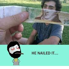 Nailed It Memes - he nailed it meme on me me