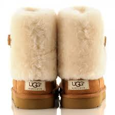 womens ugg boots ellee ugg chestnut ellee s flat cuff boot