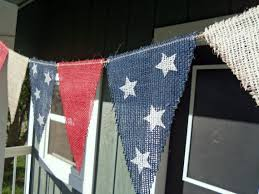 4th Of July Bunting Decorations Memorial Day And Fourth Of July Crafts Decorations And Recipes