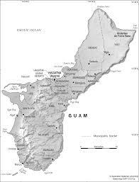 Map Of Guam Guam Administration Base Cartogis Services Maps Online Anu