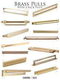 kitchen cabinet door handles with backplate pin by lichi deng on home kitchen brass kitchen