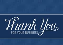 business thank you cards business thank you notes program makes it easy for you thanks