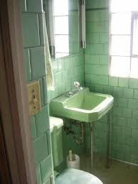 Matching Pedestal Sink And Toilet What Was It Like Bathe In A 1950 U0027s Bathroom