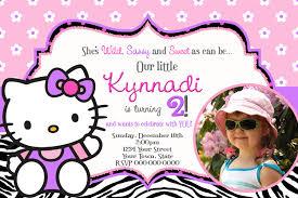 Birthday Cards Invitation Templates Hello Kitty Birthday Invitations Templates Designs Invitations