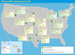 Colorado Mills Map by Bp Wind Energy Sites Wind Energy What We Do Bp U S