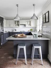 modern grey kitchen cabinets contemporary white and gray kitchen with two tone cabinets