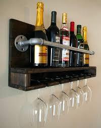 diy wine rack above fridge amazing himself build and properly