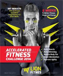 46 printable fitness flyers free u0026 premium templates