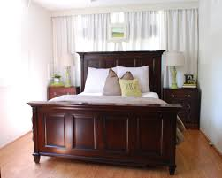 Small Bedroom Ideas With King Bed Bedroom Small Master Bedroom With Diy Upholstered Headboard And