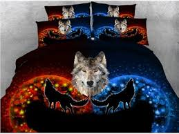 wolf bed set wolf print bedding sets beddinginn com