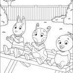 backyardigans coloring pages kids coloringpagehub