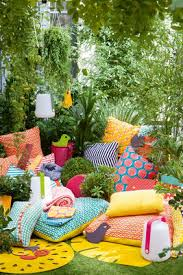 tapis d extérieur pastèque ø 66 cm ananas fermob
