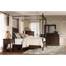 powell furniture 14bo7024kcnc passages king bed with canopy cane
