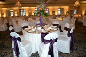 purple chair covers white and purple chair cover