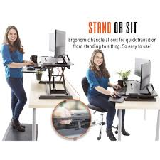 Standing To Sitting Desk Flexpro 37 Inch Sit Stand Desk Converter Standing Steady Kylma37bl 359 1024x1024 Jpg V 1522598818