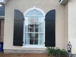 black arch top board u0026 batten exterior shutters exterior