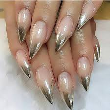 best 25 gold stiletto nails ideas only on pinterest claw nails