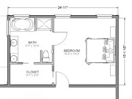 bedroom addition plans free master floor with bathroom ensuite