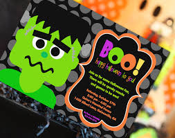 halloween bday party halloween invitation halloween party invitation