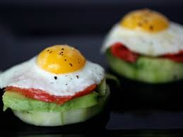 canape recipes quail egg canapés with smoked salmon avocado and pickled cucumbers