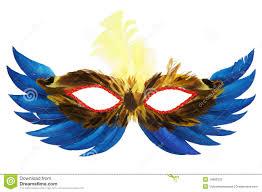 feather mask feather mask stock photos image 14860333