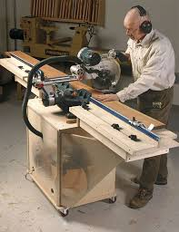 Woodworking Magazine Table Saw Reviews by Your Miter Saw Needs A Stand Finewoodworking