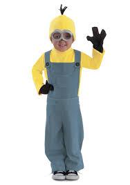 Minion Costumes Halloween Child Minions Deluxe Bob Jumpsuit