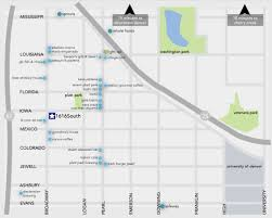 South Park Colorado Map by Neighborhood Map 1616 South Broadway